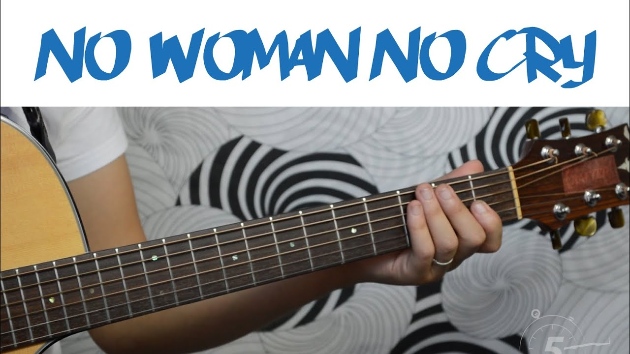 No Woman No Cry Bob Marley Easy Guitar Tutorial Simple Chords