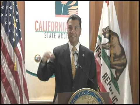 California Admission Day Ceremony, California Secretary of State Alex Padilla, September 9, 2015