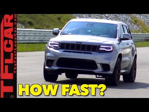Holy SH*$! 0-60 MPH with Launch Control in the World's Fastest Jeep!