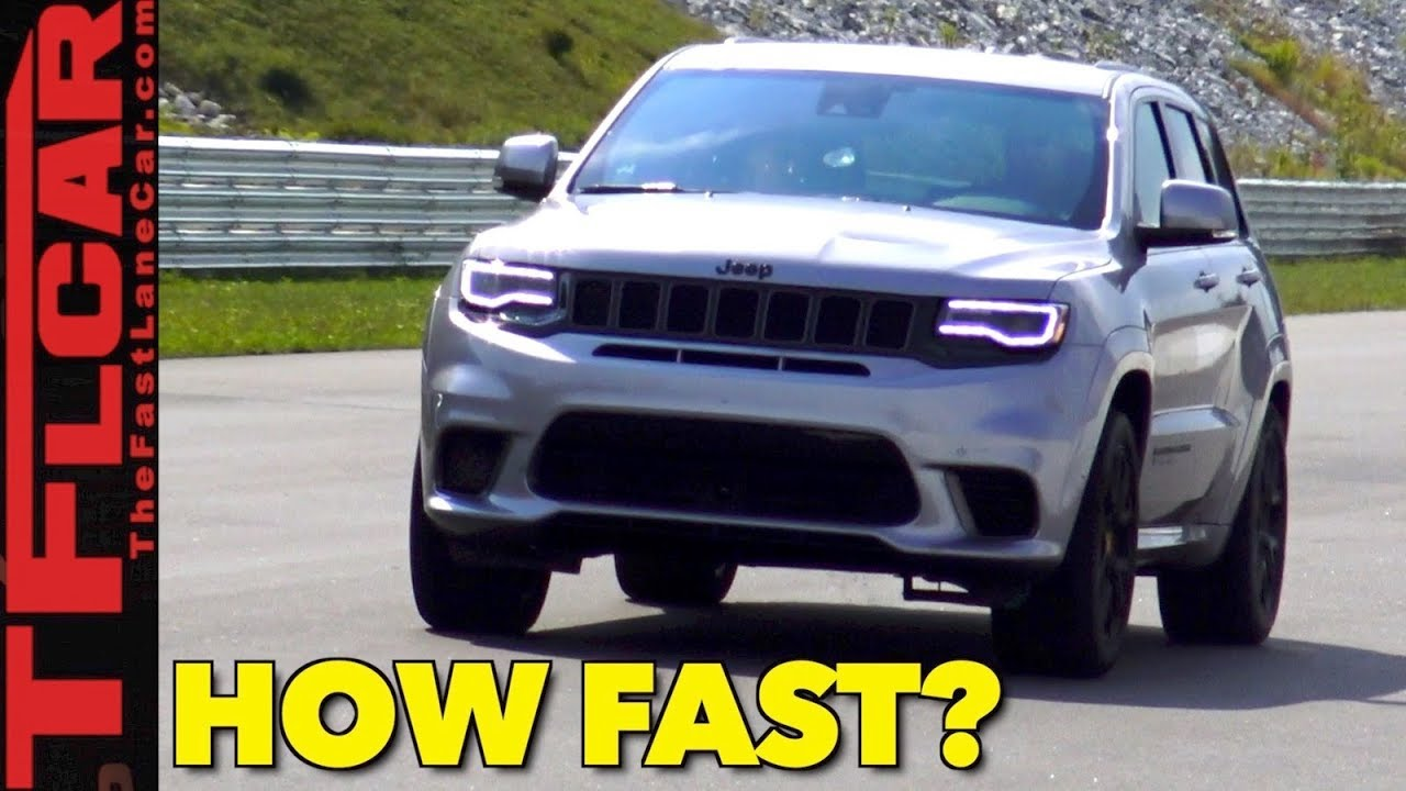 Holy Sh 0 60 Mph With Launch Control In The World S Fastest Jeep