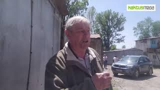 Снос гаражей на улице Туголбай Ата