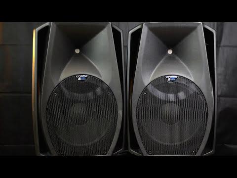 db technologies cromo 15+ sound test + look inside