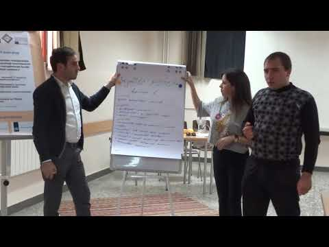 """Young Activist"" Project: Workshop in Gyumri, Shirak region, Presentation of the WG1"