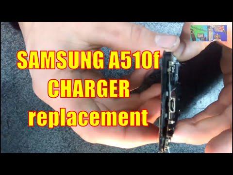 SAMSUNG A510f не заряжается РЕМОНТ Charger Replacement