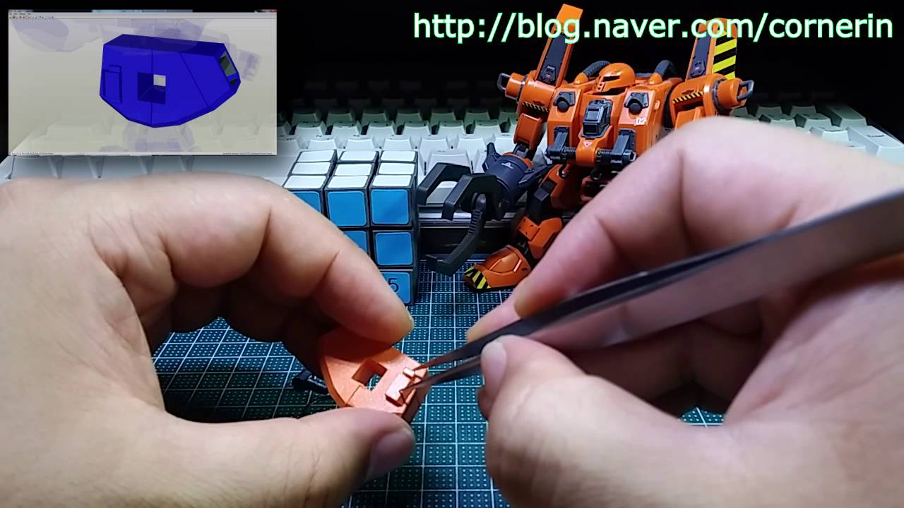 Papercraft Papercraft Mobile Worker Part 02