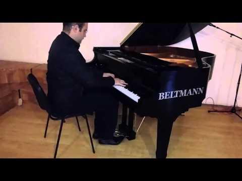 Aslan Mustafazade Gun kecdi k f den Bir axsam taksiden piano versionbestekar Emin Sabitoglu