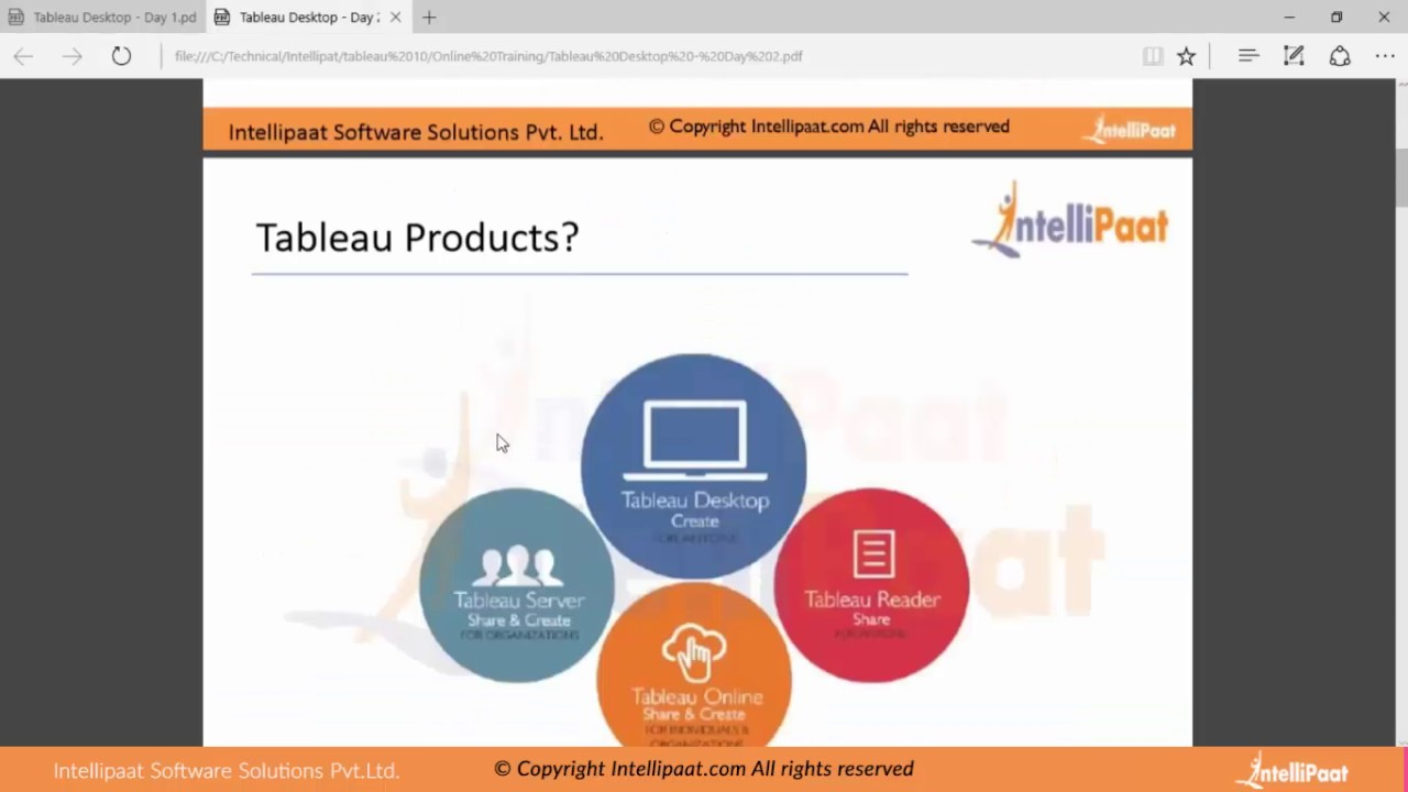 Tableau Desktop Online - YouTube