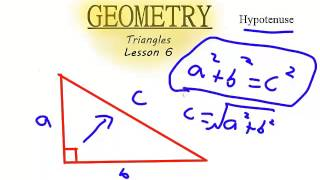 Geometry - Triangles - Lesson 6