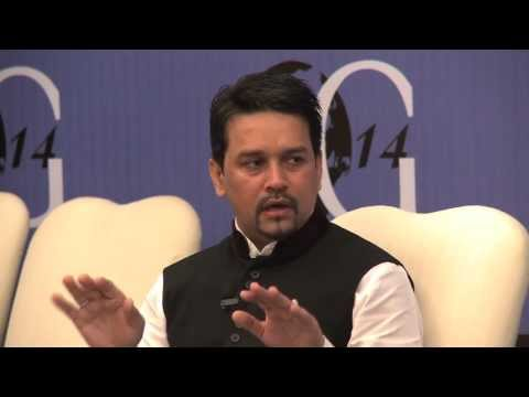 Harnessing India's Demographic Dividend - Anurag Thakur at OG14