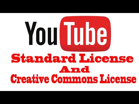 Youtube Video license Change