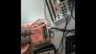 circuit bent korg kaoss pad kp-1 1