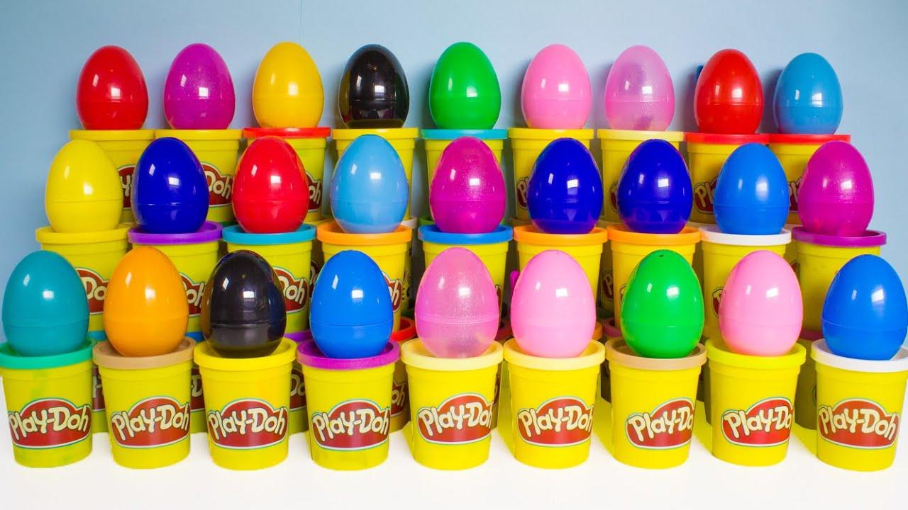 Gioca a Doh Alphabet Surprise Eggs Gioca a Doh Abc Learn The-9174
