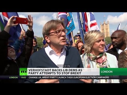 Guy Verhoftstadt backs Lib Dems as party attempts to stop #Brexit