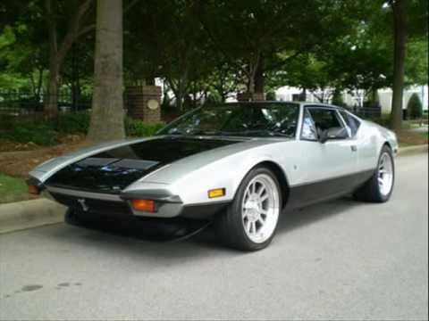 Detomaso Pantera For Sale >> For Sale 1972 Detomaso Pantera - YouTube