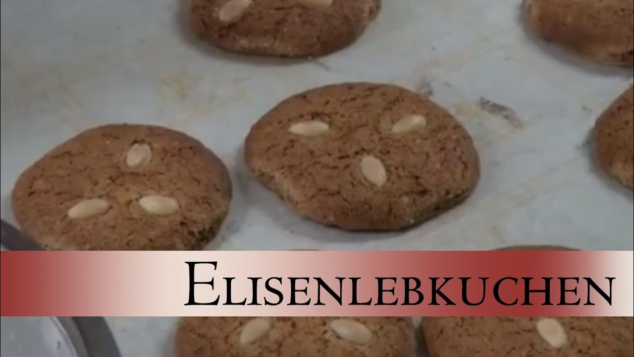 elisenlebkuchen backen das weihnachtsrezept lebkuchen selber machen youtube. Black Bedroom Furniture Sets. Home Design Ideas