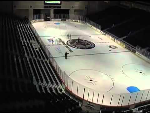Wranglers Orleans Arena Hockey Time Lapse