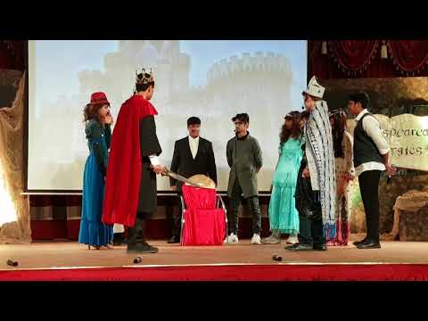 King John Shakespeare Play TWS Dubai .  Year 9 Performance.