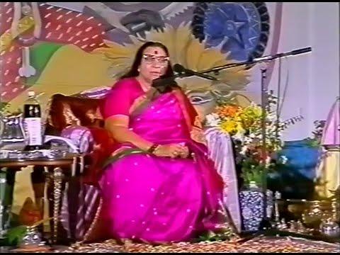 1989-1008 Navaratri Puja Talk, Depth and Content, Margate, UK, subtitles