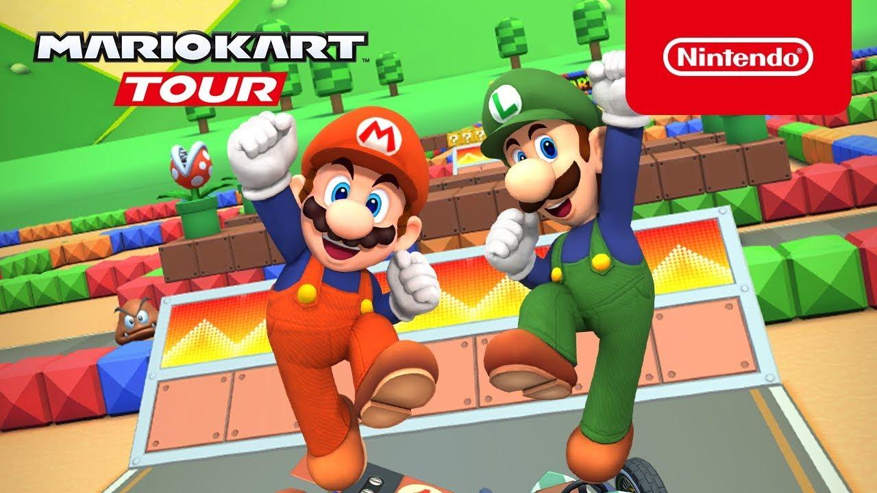Mario Kart Tour Mario Bros Tour Trailer Youtube
