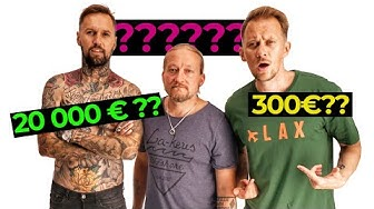 How Much is Your Outfit? ft. 20 000€ HP JA JARPPI DUDESONS
