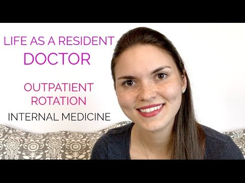 LIFE AS A RESIDENT DOCTOR: Outpatient Internal Medicine Rotation (Medical Resident Vlog)