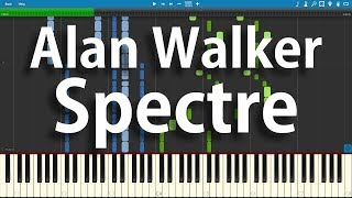 Alan Walker - Spectre | Synthesia Piano Cover