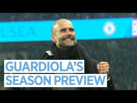 PEP GUARDIOLA\'S SEASON PREVIEW | Premier League 2018/19