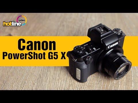 Canon PowerShot G5 X - компактный фотоаппарат для продвинутых пользователей
