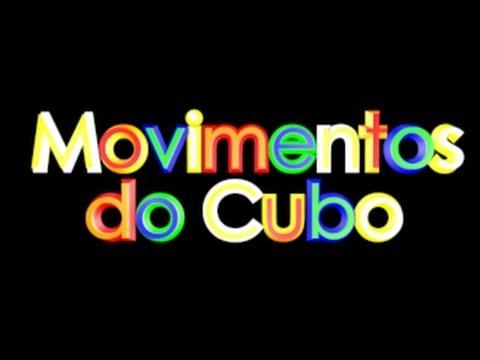 Notação dos movimentos do cubo mágico (R, U', F2, d, x, Lw', M, [b], ...)