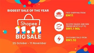 Shopee 11.11 Big Sale TVC 2018