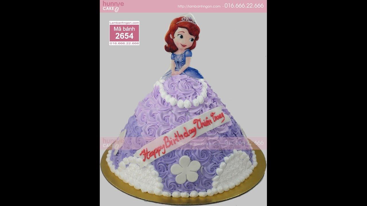 Bánh sinh nhật Sofia - Sofia the first - Công chúa đệ nhất