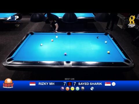 10 - Ball Jogja Open International 2018 RIZKY MH (INDONESIA) VS SAYED SHARIK (SINGAPORE)