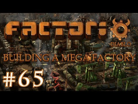 Factorio - Building a Mega Factory: Part 65 Finishing the Batteries and Acid setup