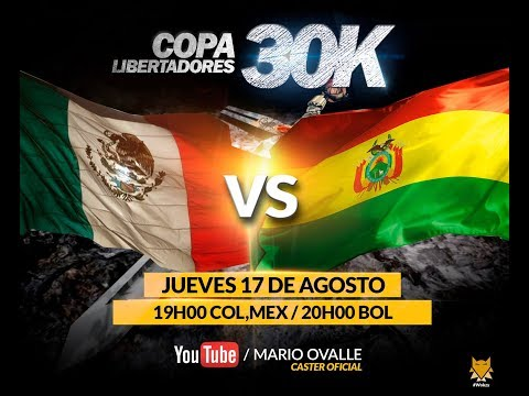MEXICO VS BOLIVIA OCTAVOS DE FINAL COPA 30K AGE OF EMPIRES 2