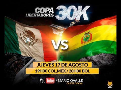 MEXICO VS BOLIVIA OCTAVOS DE FINAL COPA 30K AGE OF EMPIRES 2