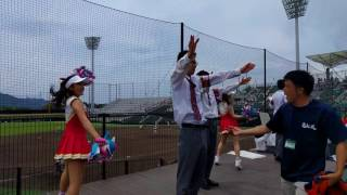 高松北高等学校応援部 2017.07.17高松高校戦 9回チャンパ