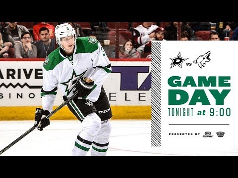 NHL 18 PS4. REGULAR SEASON 2017-2018: Dallas STARS VS Arizona COYOTES. 10.19.2017. (NBCSN) !