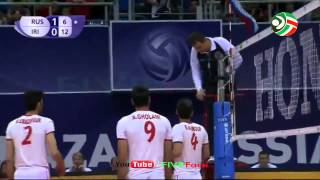 волейбол иран россия 13 06 2015 iran russia volleyball world league 2015
