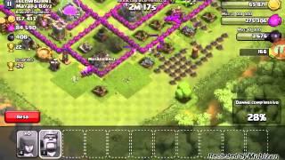 Clash of clans#6- ATTACCO CON SOLI ARCERI