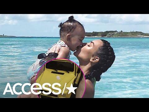 Kim Kardashian's Daughter Chicago Got A Mini G-Wagon For Her First Birthday | Access