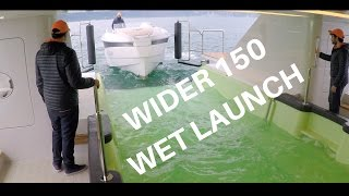 WIDER 150 Superyacht - The Drive in Tender Garage