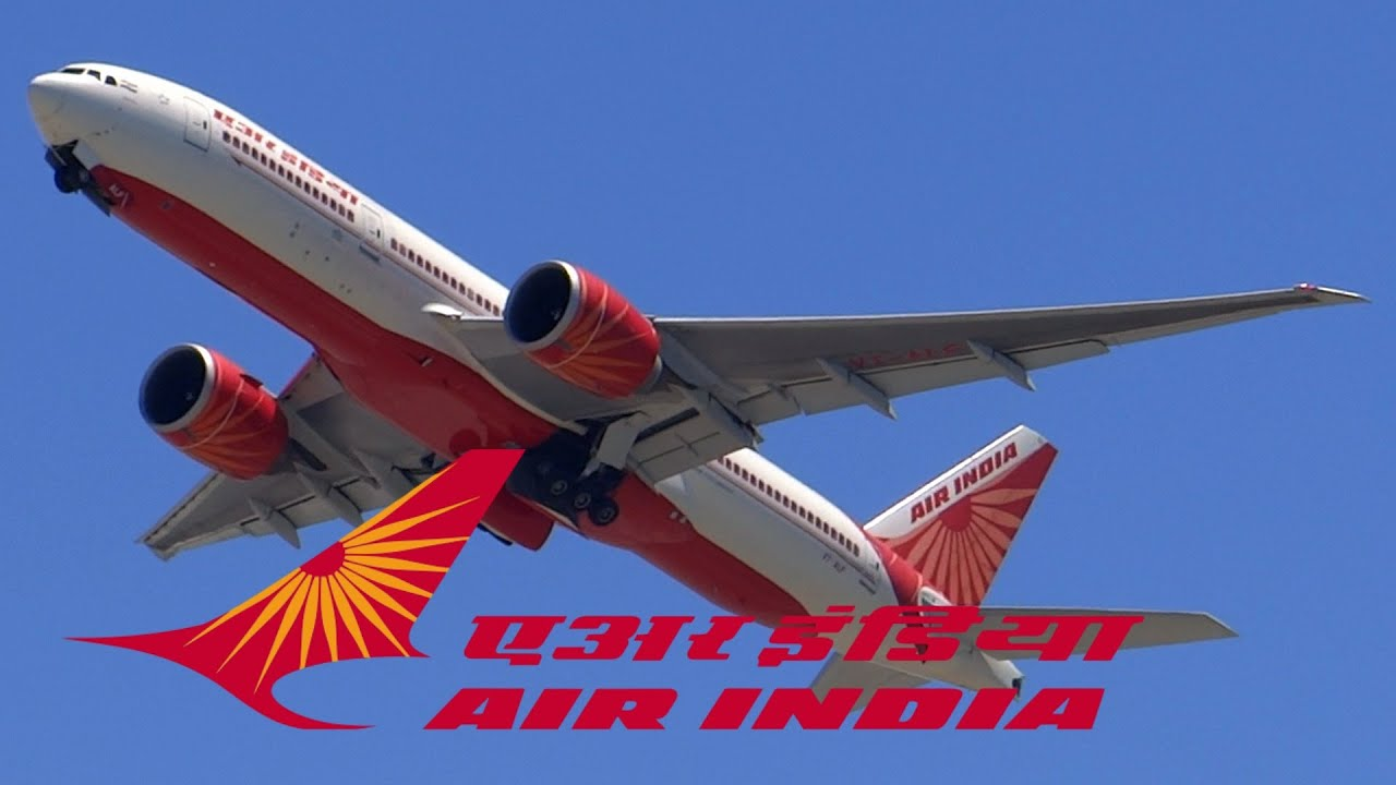 Download HD Air India Boeing 777-237/LR VT-ALF Takeoff from San Francisco International Airport