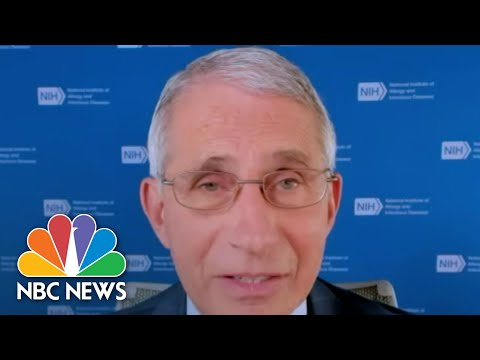 Fauci Disputes Trump's Claim That U.S. Is 'Rounding The Corner' | NBC Nightly News