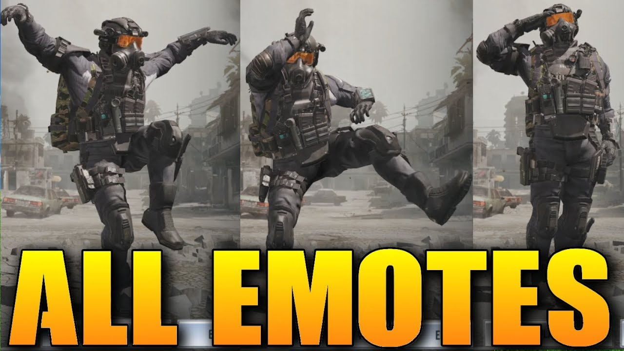 ALL EMOTES in Call of Duty Mobile | CoD Mobile emotes