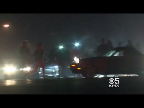 Dangerous Sideshow Breaks Out Near Airport In San Jose Sunday Morning