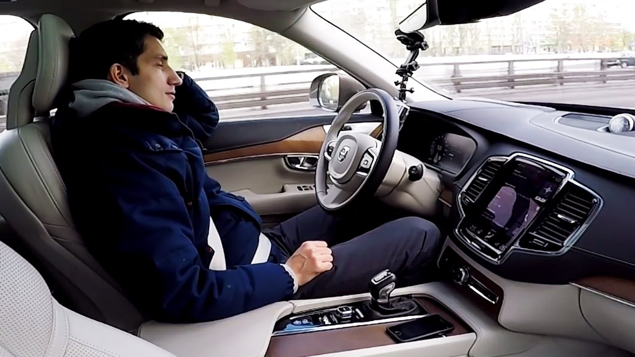 Тестим автопилот в новой Volvo XC90!