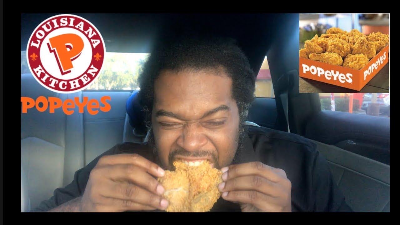Popeyes Fried Chicken Mukbang! Storytime|Feeding The Homeless