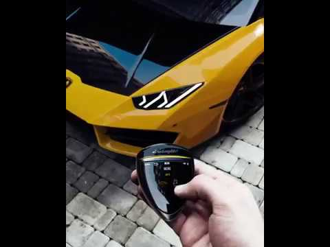 Colour Changing Lamborghini Futuristic Design Key Youtube
