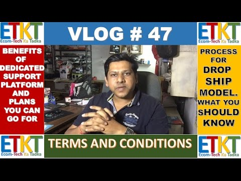 Vlog # 47 Benefits and Features Of Dedicated Support Plan, Process For Drop shipping model thumbnail