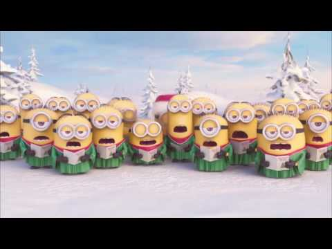 Minions Jingle Bells | Christmas Song for Children( with subtitles ) | Миньоны поют Новогоднюю песню